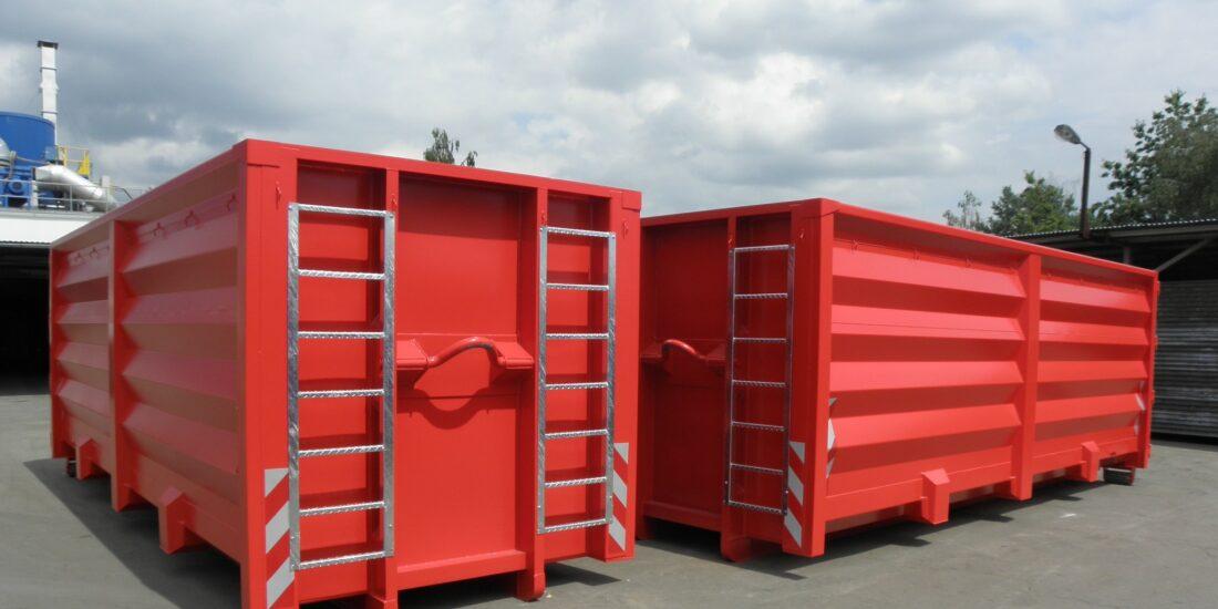 prolamované kontejnery